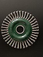 Щётка дисковая D 125 x 6 x 22,2 mm. OSBORN Жгутоваянержавеющаяпроволока 0,35mm