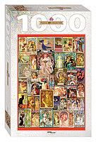 """Step Puzzle: пазл 1000 деталей  """"Art Nouveau"""""""