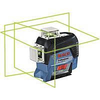 Лазерный уровень (нивелир) с зелёным лучом, Bosch GLL 3-80 CG, 0601063T00