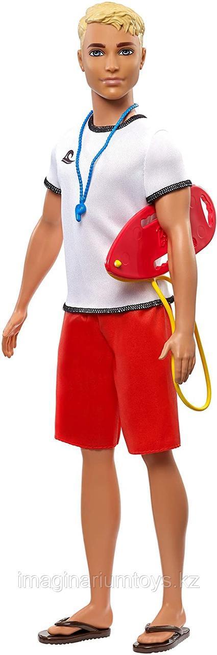 Кукла Барби Кен блондин спасатель