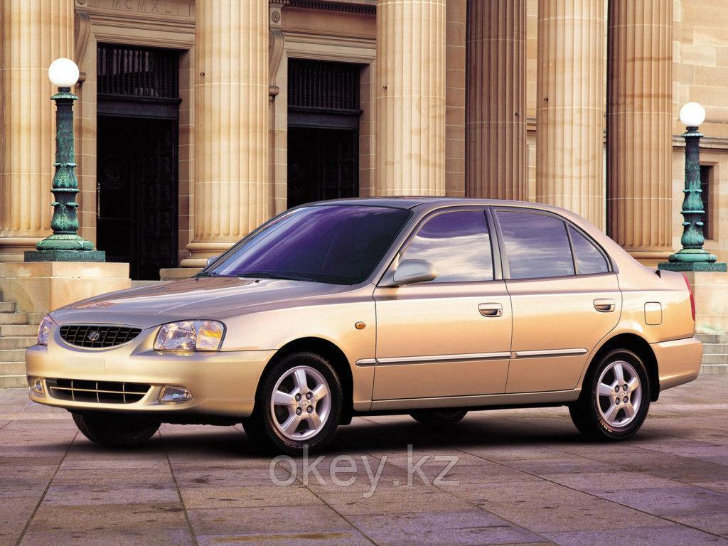 Тормозные колодки Kötl 3331KT для Hyundai Accent II седан (LC) 1.3, 2000-2005 года выпуска.