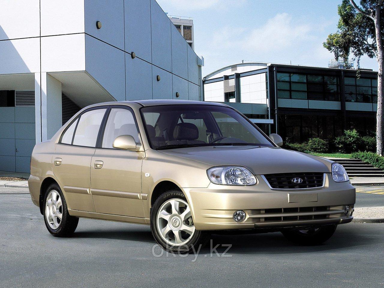 Тормозные колодки Kötl 3331KT для Hyundai Accent II седан (LC) 1.5 CRDi, 2002-2005 года выпуска.