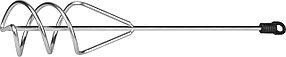 Миксер для песчано-гравийных смесей STAYER, 80х400 мм, шестигранный хвостовик (06015-08-40)