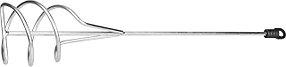 Миксер для песчано-гравийных смесей STAYER, 100х500 мм, шестигранный хвостовик (06015-10-50)
