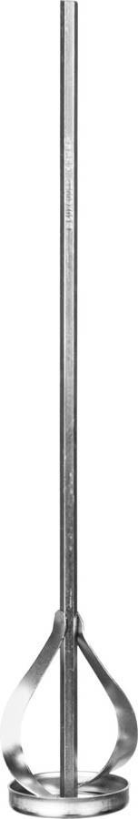 """Миксер для красок ЗУБР 60х400 мм, шестигранный хвостовик, серия """"Профессионал"""" (0602-06-40_z02)"""