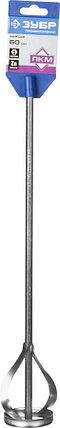 """Миксер для красок ЗУБР 60х400 мм, шестигранный хвостовик, серия """"Профессионал"""" (0602-06-40_z02), фото 2"""