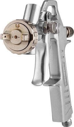 STAYER сопло 1,5 мм, краскопульт пневматический с верхним бачком ORION (06471-1.5), фото 2