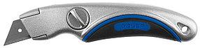 Нож с трапециевидным лезвием ЗУБР А24, 19 мм (09221)