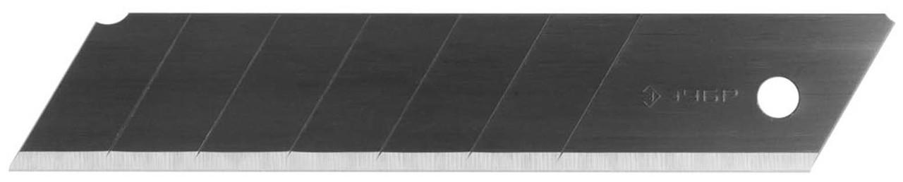 Лезвия ЗУБР 25 мм, 5 шт., сегментированные вороненые (09715-25-5)