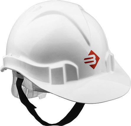Каска защитная ЗУБР размер 52-62 см, белая (11090-2_z01), фото 2