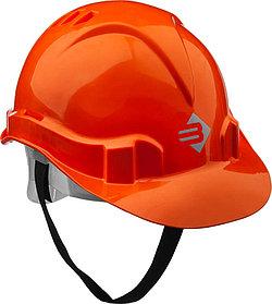 Каска защитная ЗУБР размер 52-62 см, оранжевая (11090_z01)
