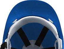 Каска защитная ЗУБР размер 52-62 см, храповый механизм регулировки размера, синяя (11094-3), фото 3