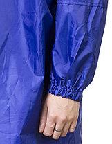 Плащ-дождевик ЗУБР нейлоновый, размер S-XL, цвет синий (11615), фото 2