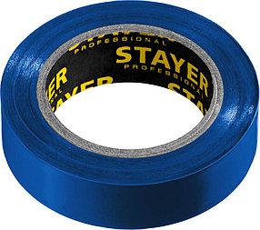 Изоляционная лента пвх STAYER 15 мм х 10 м, не поддерживает горение, Protect-10 (12291-B)