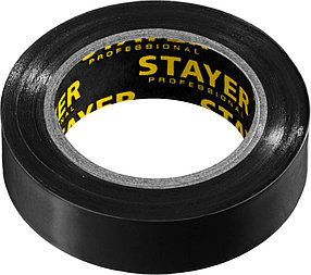 Изоляционная лента пвх STAYER 15 мм х 10 м, не поддерживает горение, Protect-10 (12291-D)