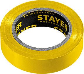 Изоляционная лента пвх STAYER 15 мм х 10 м, не поддерживает горение, Protect-10 (12291-Y)