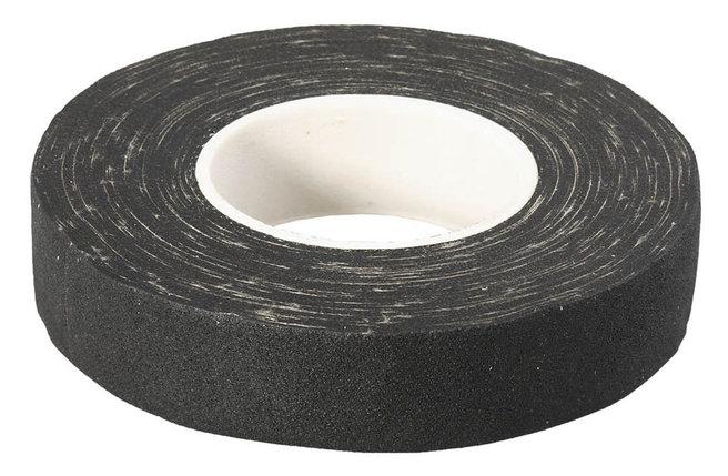 Изолента ЗУБР 18 мм х 15 м, на хлопчатобумажной основе, цвет черный (1231-19), фото 2