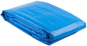 Тент строительный ЗУБР 3*5 м, плотность 120 г/м, универсальный повышенной плотности (12552-03-05)