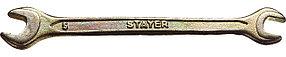 Ключ гаечный STAYER 6х7 мм, оцинкованный, рожковый (27038-06-07)