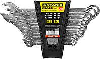 Набор комбинированных гаечных ключей STAYER 12 шт, 8 - 24 мм (27085-H12)