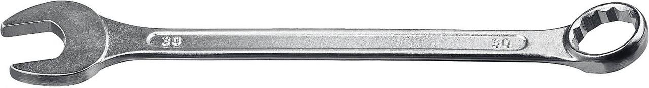 Ключ гаечный СИБИН 30 мм, комбинированный (27089-30)
