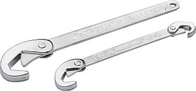 Набор быстрозажимных ключей STAYER 2 шт, 9-32 мм, MAXGRIP (2756-H2)