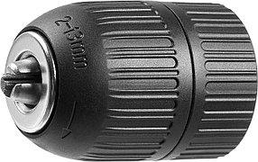 """Патрон для дрели ЗУБР 13 мм, 1/2"""", быстрозажимной (2907-13-1/2_z02)"""