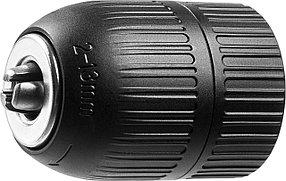 """Патрон для дрели ЗУБР 13 мм, 3/8"""", быстрозажимной (2907-13-3/8_z02)"""