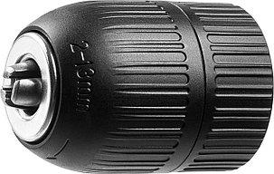 """Патрон для дрели ЗУБР 13 мм, 3/8"""", быстрозажимной (2907-13-3/8_z02), фото 2"""