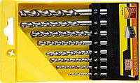 Набор ударных сверл по бетону STAYER 8 шт: Ø 3-4-5-6-6-8-8-10 мм, наконечник ВК8 (2912-H8_z01)