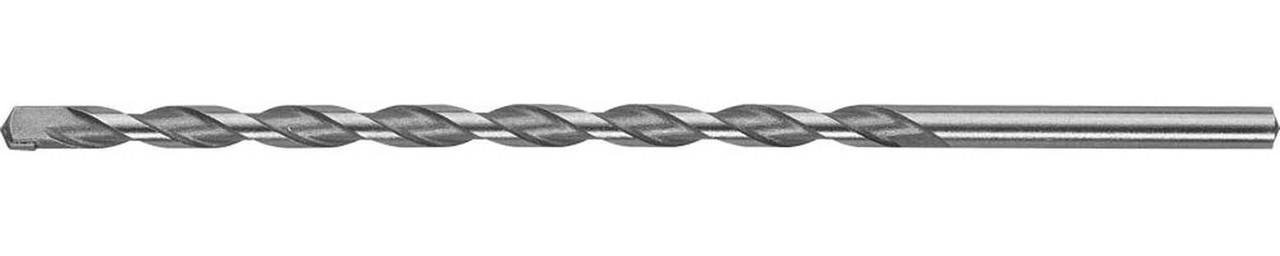 "Сверло по бетону ЗУБР 6 x 200 мм, цилиндрический хвостовик, серия ""Профессионал"" (29140-200-06_z01)"