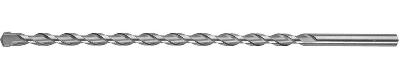 Сверло по бетону ЗУБР 12 x 300 мм, цилиндрический хвостовик (29140-300-12_z01)
