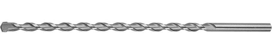 Сверло по бетону ЗУБР 12 x 300 мм, цилиндрический хвостовик (29140-300-12_z01), фото 2