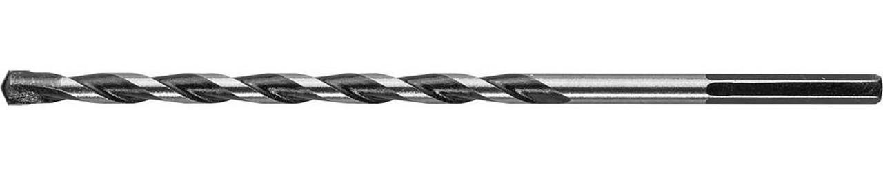 """Сверло по бетону ЗУБР 6 x 150 мм, шестигранный хвостовик, серия """"Профессионал"""" (2916-150-06)"""