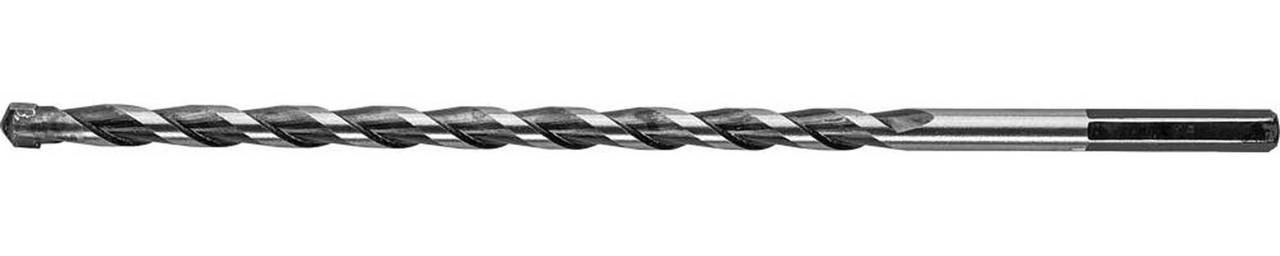 """Сверло по бетону ЗУБР 8 x 200 мм, шестигранный хвостовик, серия """"Профессионал"""" (2916-200-08)"""