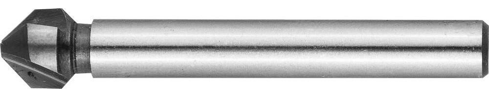 Зенкер конусный ЗУБР Ø 6.3 x 45 мм, для раззенковки М3 (29730-3)