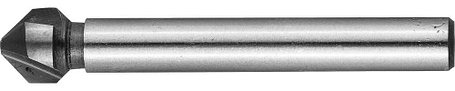 Зенкер конусный ЗУБР Ø 8,3 x 50 мм, для раззенковки М4 (29730-4), фото 2