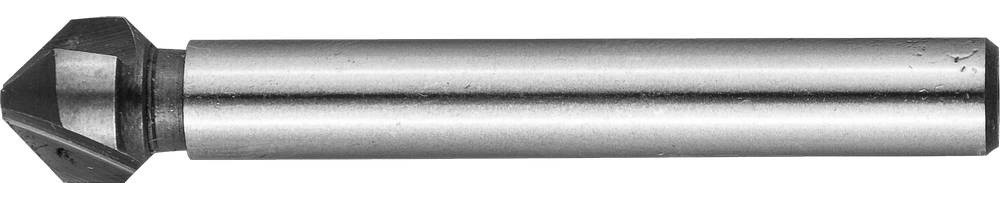 Зенкер конусный ЗУБР Ø 8,3 x 50 мм, для раззенковки М4 (29730-4)