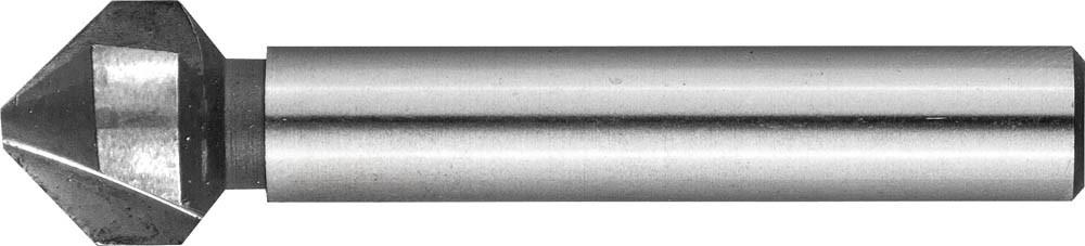 Зенкер конусный ЗУБР Ø 12.4 x 56 мм, для раззенковки М6 (29730-6)
