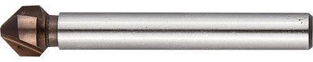 Зенкер конусный ЗУБР Ø 6.3 x 45 мм, для раззенковки М3 (29732-3), фото 2