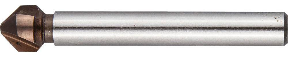 Зенкер конусный ЗУБР Ø 6.3 x 45 мм, для раззенковки М3 (29732-3)