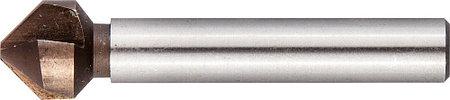 Зенкер конусный ЗУБР Ø 10,4 x 50 мм, для раззенковки М5 (29732-5), фото 2
