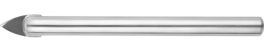 Сверло по стеклу и кафелю URAGAN 6 мм, 2-х резцовый, хвостовик цилиндрический (29830-06), фото 2