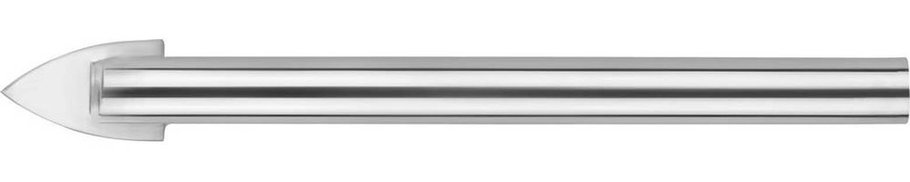 Сверло по стеклу и кафелю URAGAN 8 мм, 2-х резцовый, хвостовик цилиндрический (29830-08), фото 2