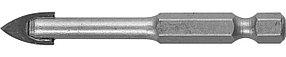 Сверло по стеклу и кафелю ЗУБР 8 мм, 2-х резцовый, шестигранный хвостовик (29840-08)