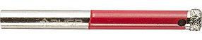 """Сверло трубчатое по кафелю и стеклу ЗУБР Ø4 мм, Р 60, алмазное, серия """"Профессионал"""" (29850-04)"""