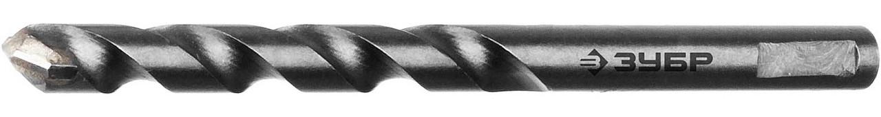 Центрирующее сверло ЗУБР 8 мм, цилиндрический хвостик, для коронок (29213)