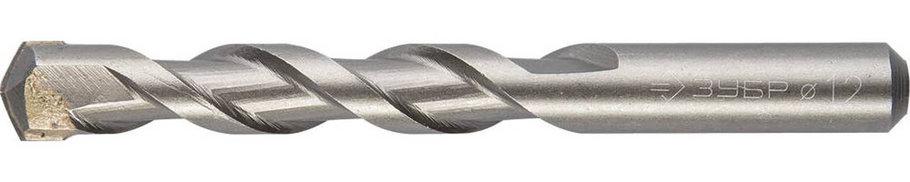 Сверло по бетону ЗУБР 12.0 х 110 мм, ударное (2922-110-12), фото 2