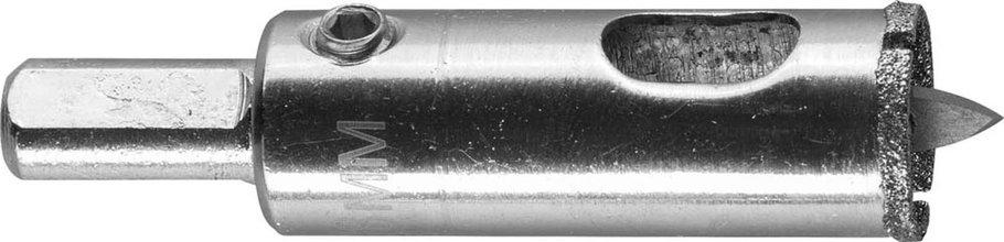 """Коронка по кафелю и стеклу ЗУБР 18 мм, Р 60, алмазная, серия """"Профессионал"""" (29850-18), фото 2"""