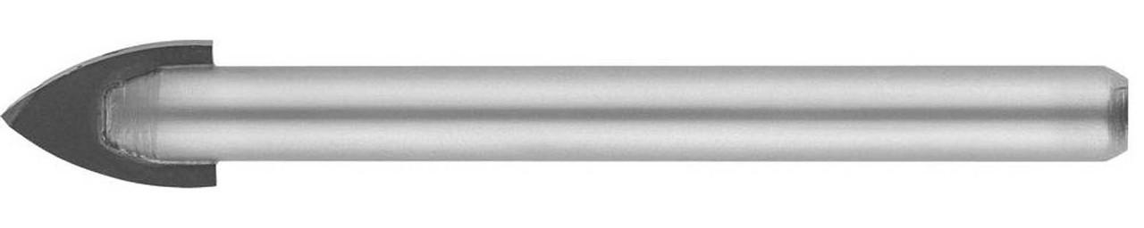Сверло по стеклу и кафелю STAYER 10 мм, 2-х резцовый хвостовик цилиндрический (2986-10)